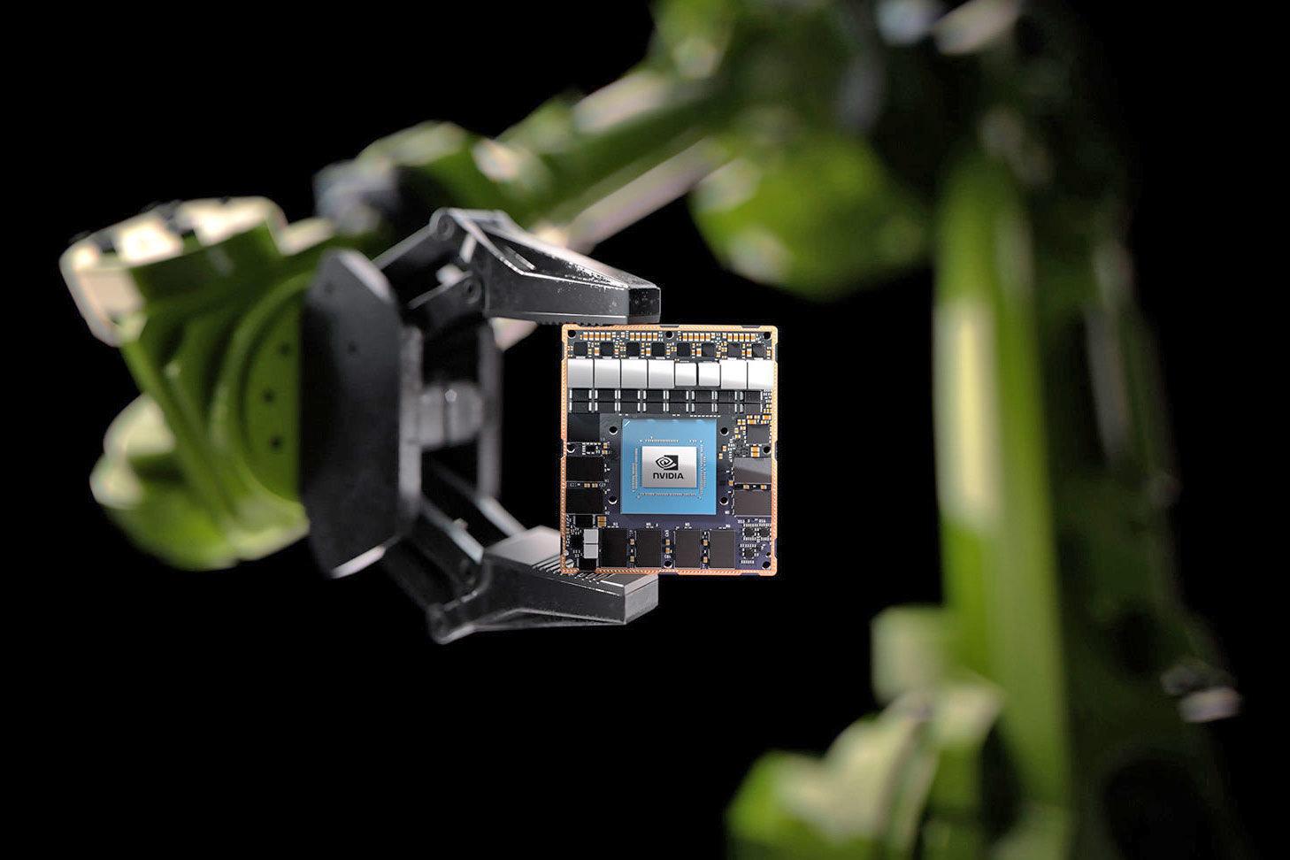 机器人迈进新时代,NVIDIA推出超级计算模块