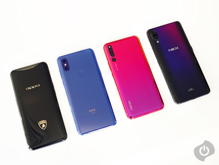 2018年度四大机械结构旗舰手机横评:拍照篇