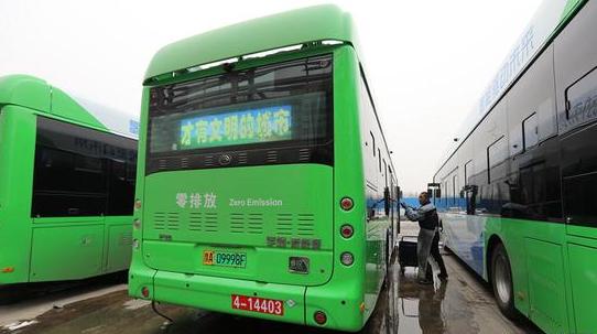 郑州:新增20台氢燃料电池公交车上线