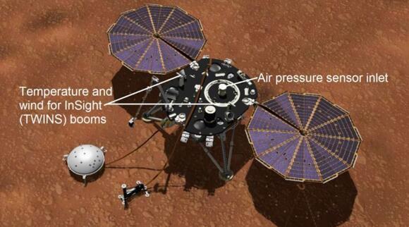 """""""洞察号""""化身""""气象学家"""" 发现火星气压""""打嗝""""秘密"""