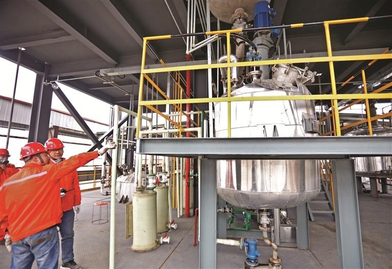 全国首个液体储氢材料生产基地中试投产