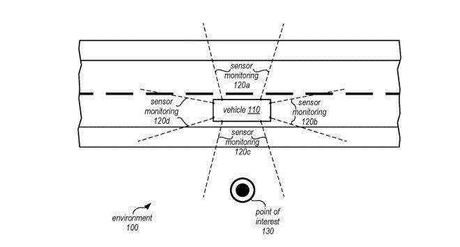 苹果又申请专利!自动驾驶汽车自动捕捉驾驶员兴趣点