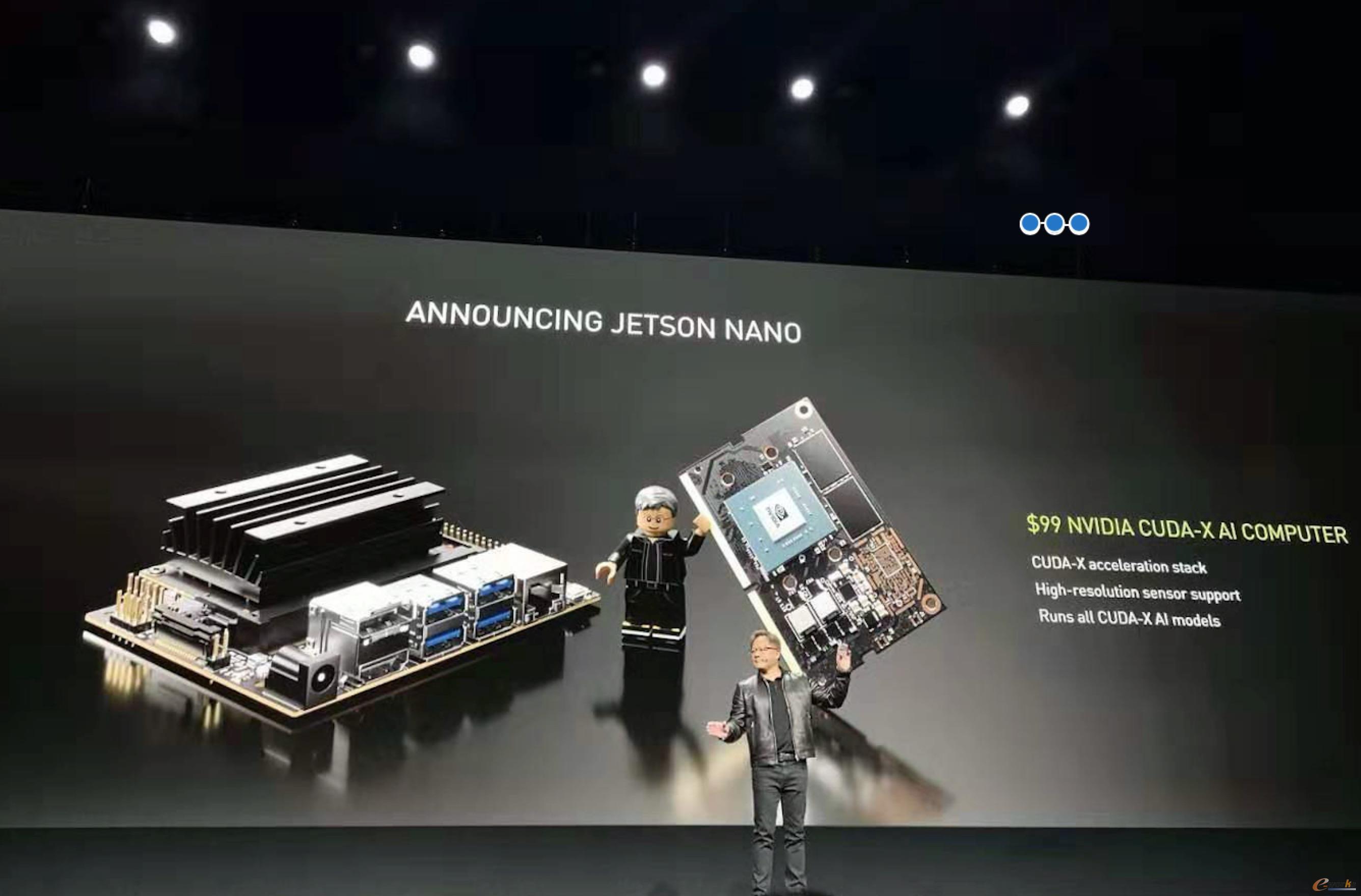 NVIDIA推出人工智能计算机Jetson Nano
