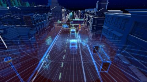 英伟达自动驾驶平台可使用环绕激光雷达