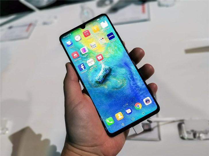 华为:西欧智能手机市场销量回升