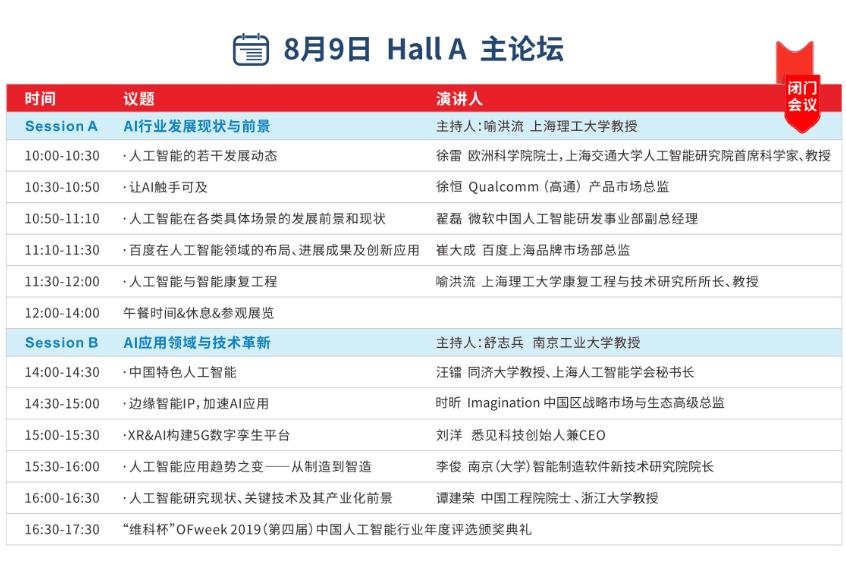 8大方向阐明康复机器人应用现状与前景——上海理工大学教授喻洪流出席OFweek人工智能产业大会