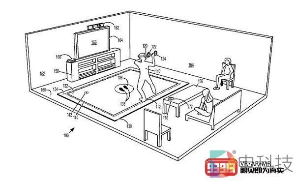 微软为具有触觉反馈和压力传感器的VR垫申请专利