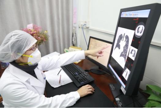 用CT来诊断新型肺炎,武汉大学中南医院影像诊断背后的存储浪潮