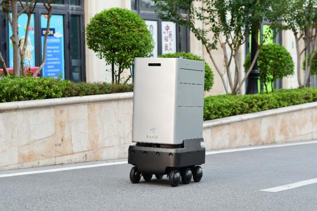 2020机器人创新排行榜公布 智能物流机器人hachi deli