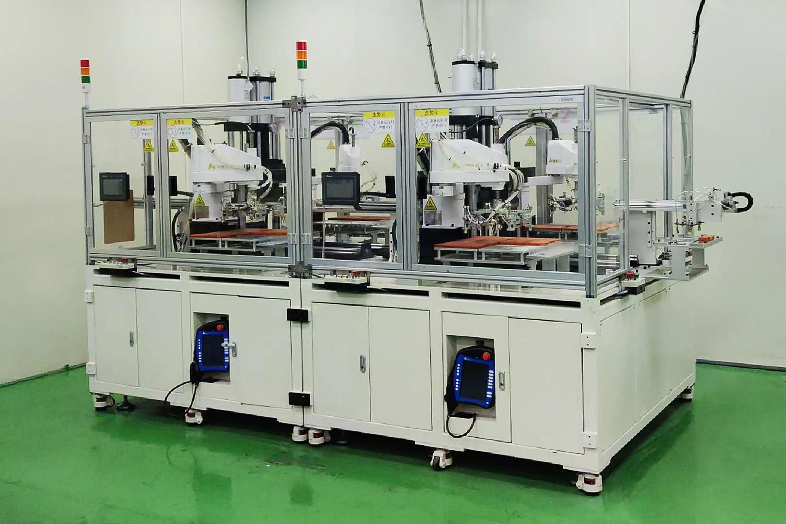 高效柔性换产,华数机器人助力笔电行业实现铆压自动化
