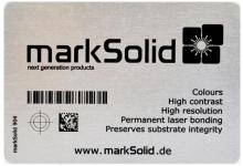 激光打标机实现不锈钢表面彩色标记