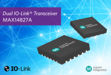 Omron将Maxim用于IO-Link传感器
