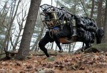波士顿动力展示新技术:会开门的机器人