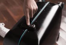 小米有品众筹智能旅行箱 指纹解锁