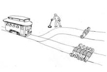 意外来临时,自动驾驶系统会撞向谁?