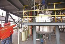 国内首个液体储氢材料基地中试投产