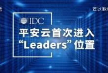 平安云跻身IDC报告中国金融行业云领导者