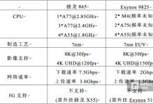 """Exynos 9825""""先发制人"""",还是骁龙865""""后发制胜""""?"""